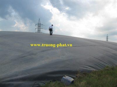 Bạt HDPE phủ hồ Biogas|Hệ thống Biogas phủ bạt HDPE