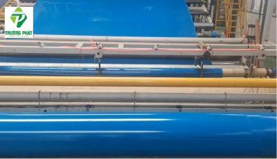 màng chống thấm HDPE màu xanh